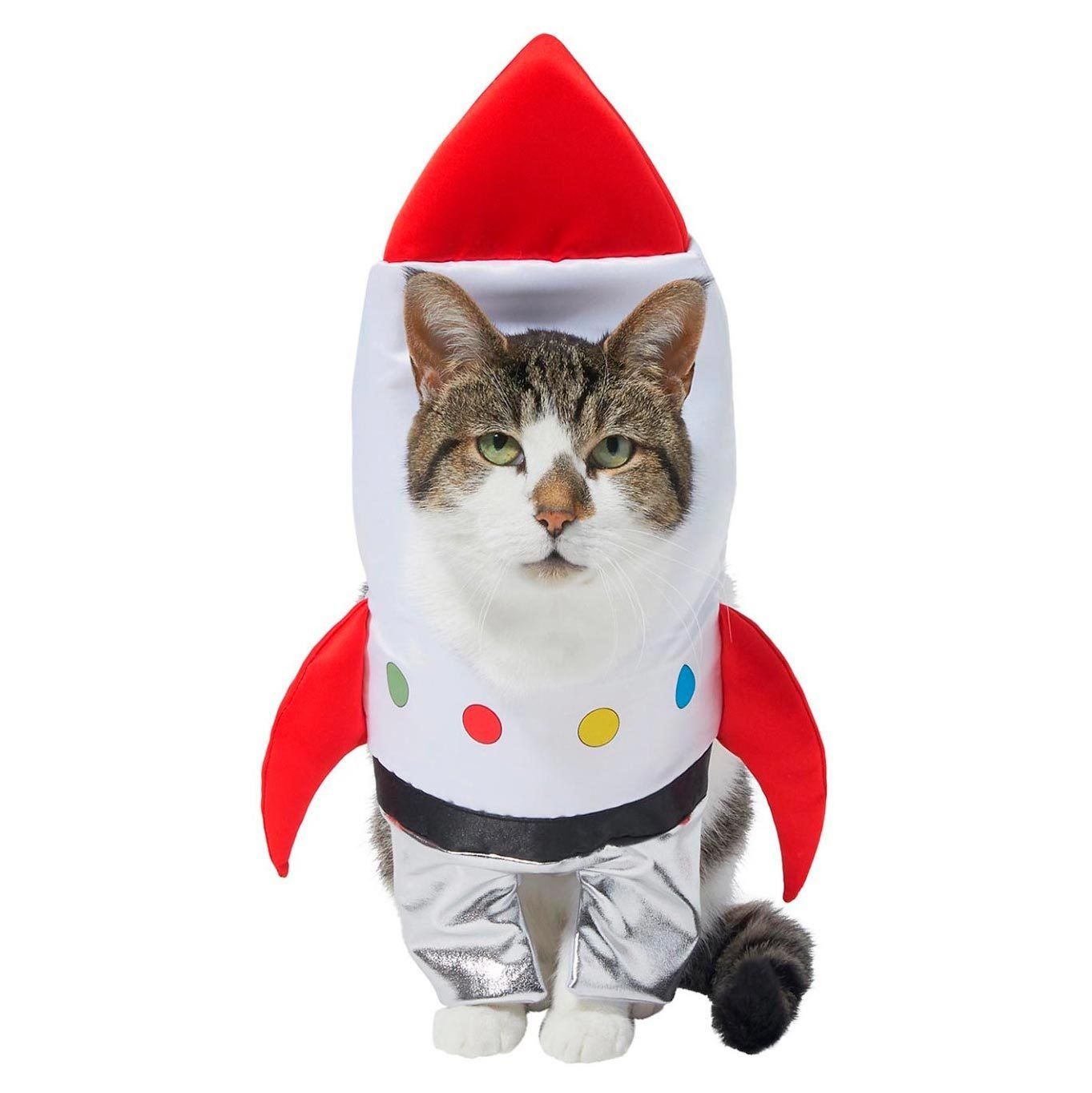 rocket ship cat costume