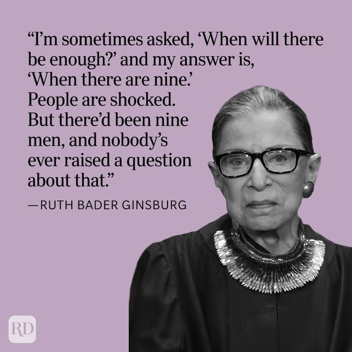 Ruth Bader Ginsburg When There Are Nine Quote