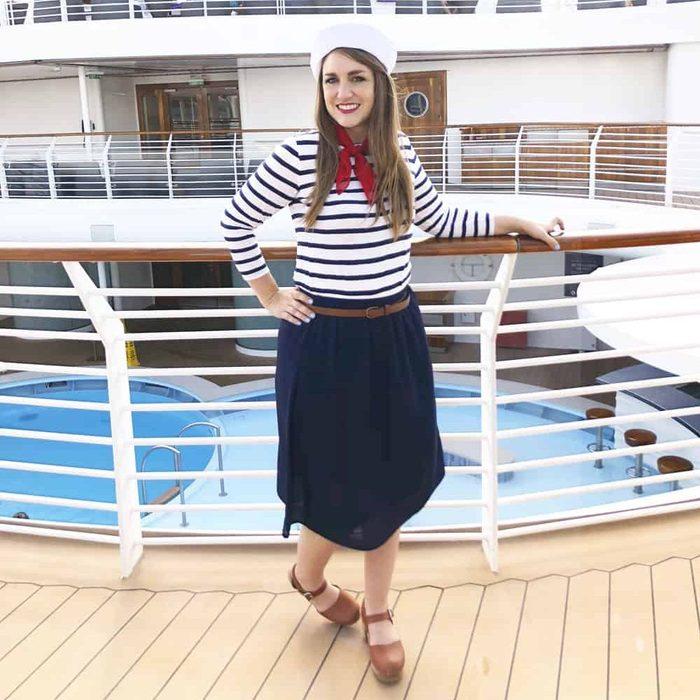 Sailor diy costume