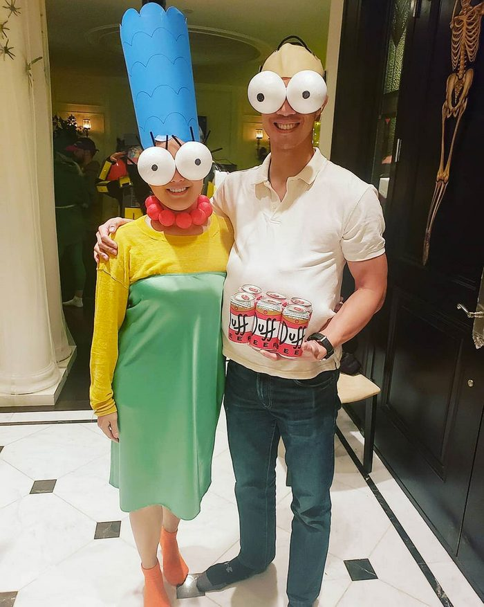the simpsons couples halloween costume