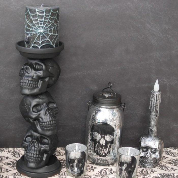 Skull Candle Holder Via Endlesslyinspired