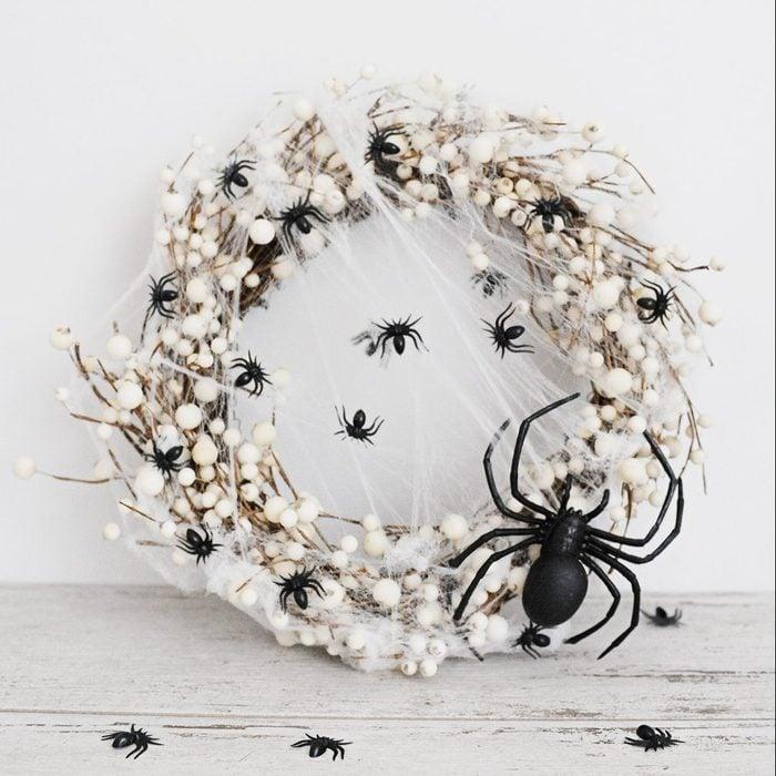 Spider Wreath halloween decoration