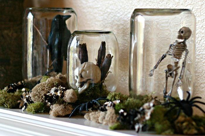 spooky terrarium halloween craft