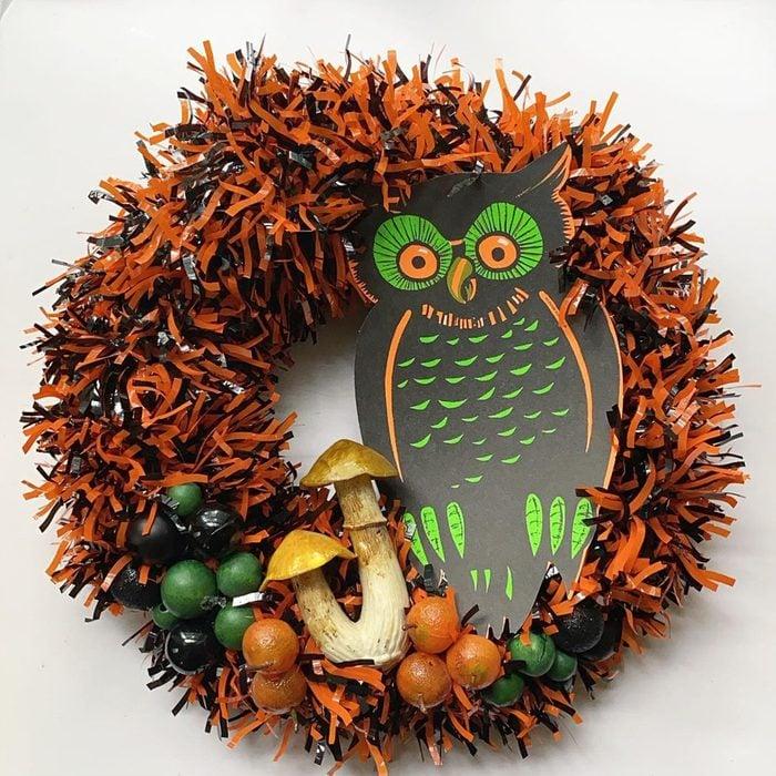 Spooky Wreath Via Handmadebyminzer