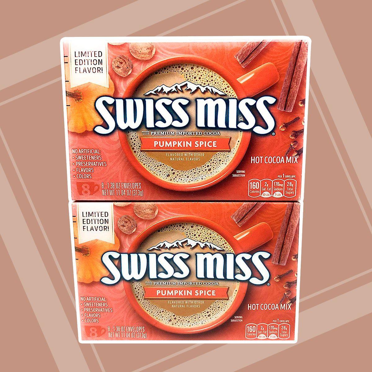 swiss miss pumpkin spice cocoa mix