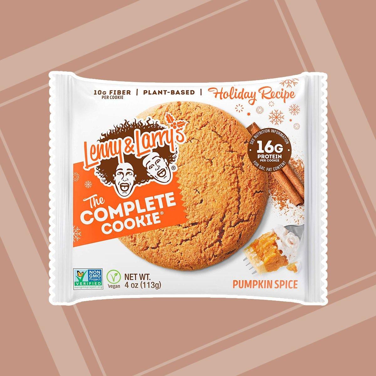 pumpkin spice complete cookies
