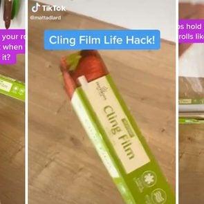 TikTok cling film hack