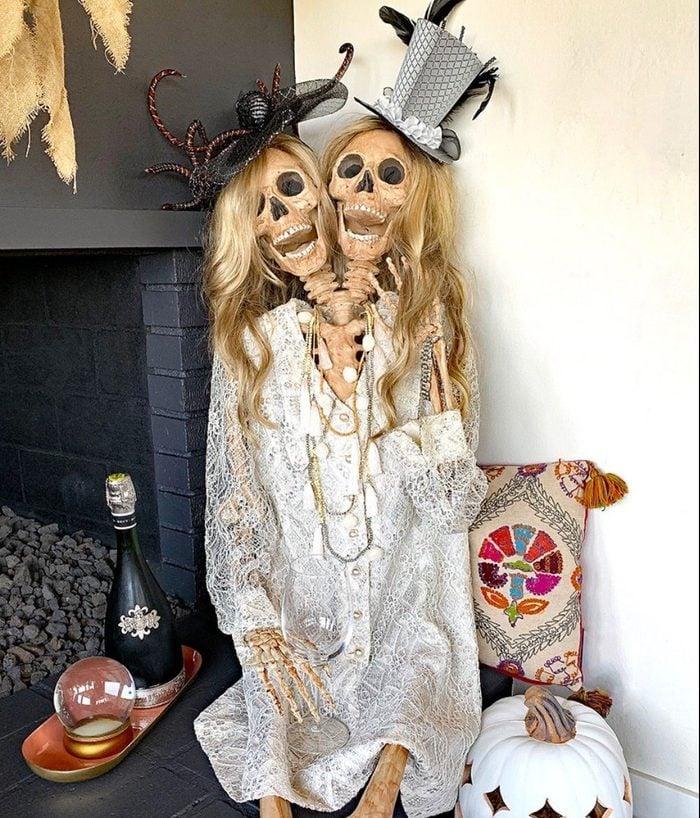Two Headed Skeleton Decoration