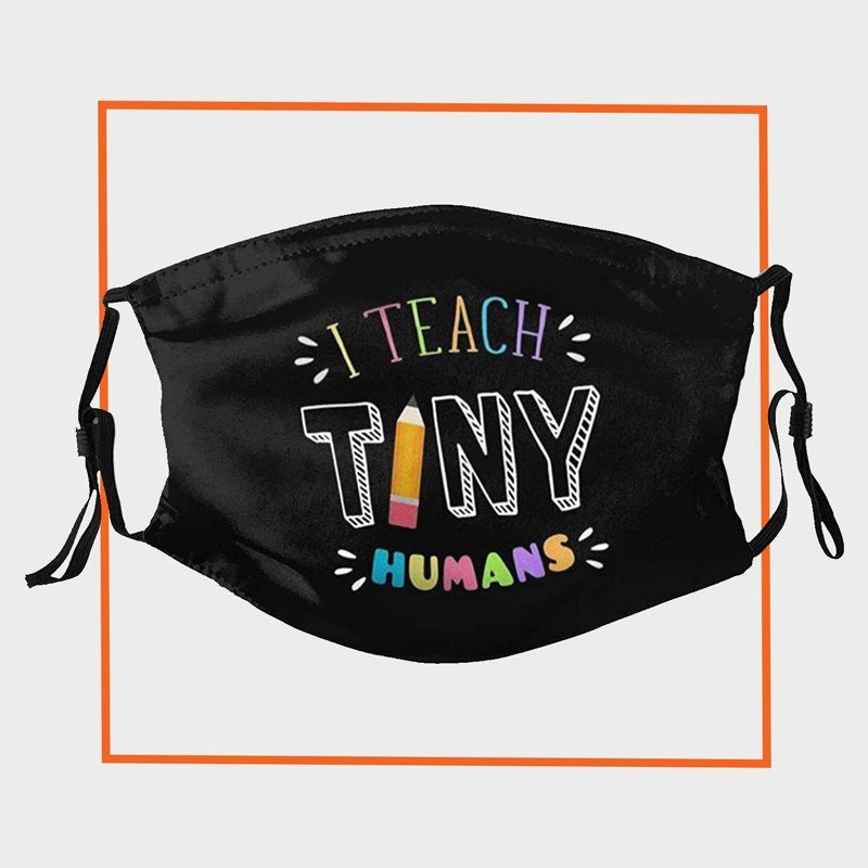 vipsung I Teach Tiny Humans Reusable Mask
