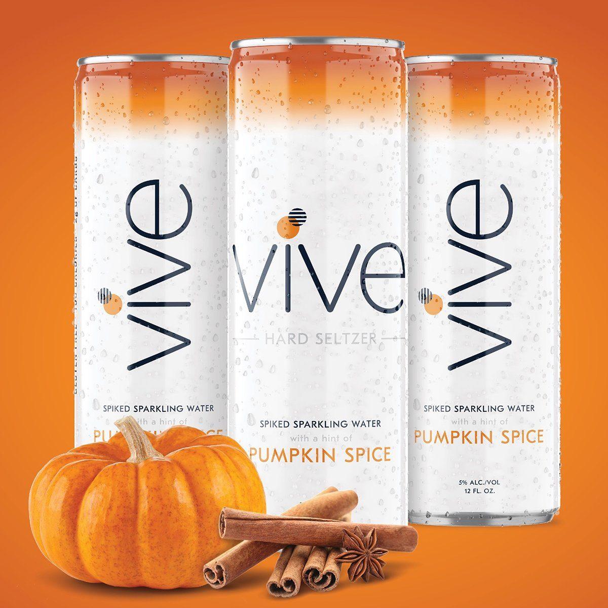 pumpkin spice vive hard seltzer