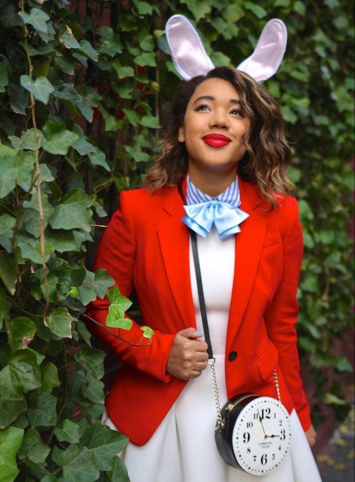 White Rabbit halloween Costume