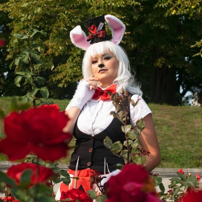 White Rabbit Diy Costume