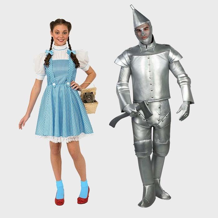 Dorothy and Tin Man Halloween Costume