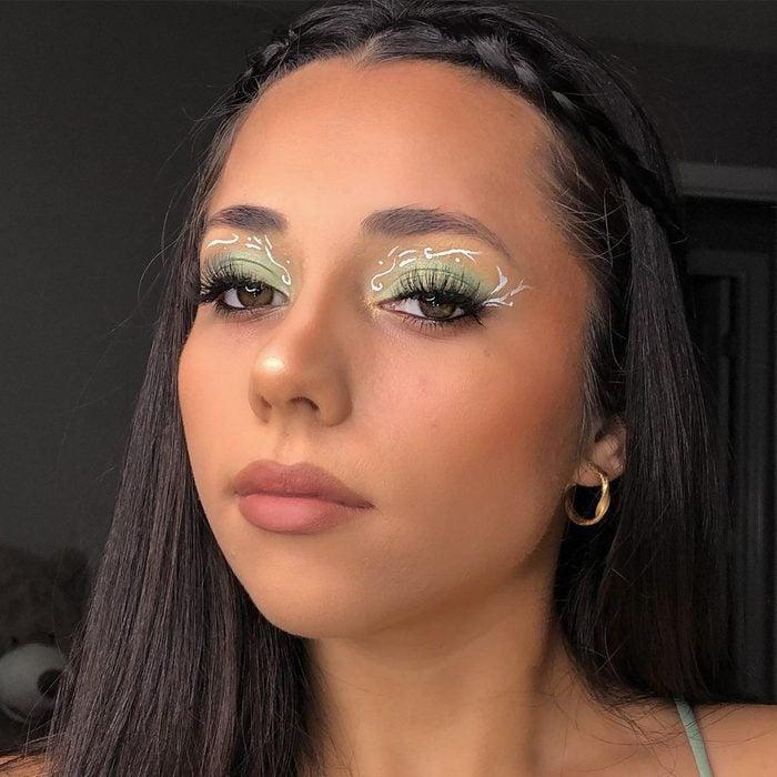 Woodland Princess Halloween Makeup