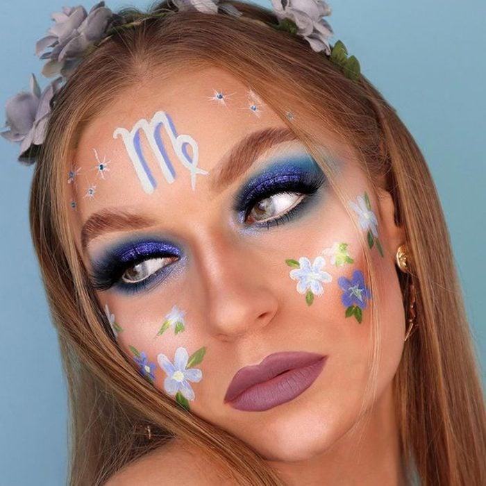 Zodiac Sign Halloween Makeup