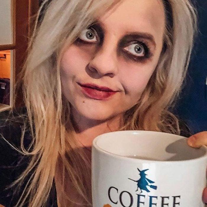 Zombie Mom Halloween Makeup