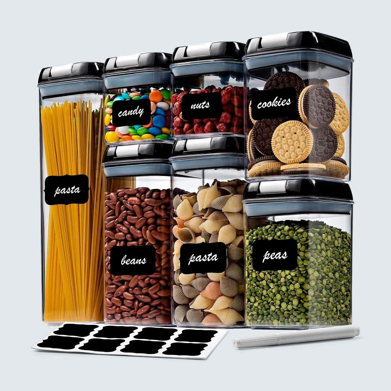 Seseno 7-Piece Airtight Food Storage Container Set