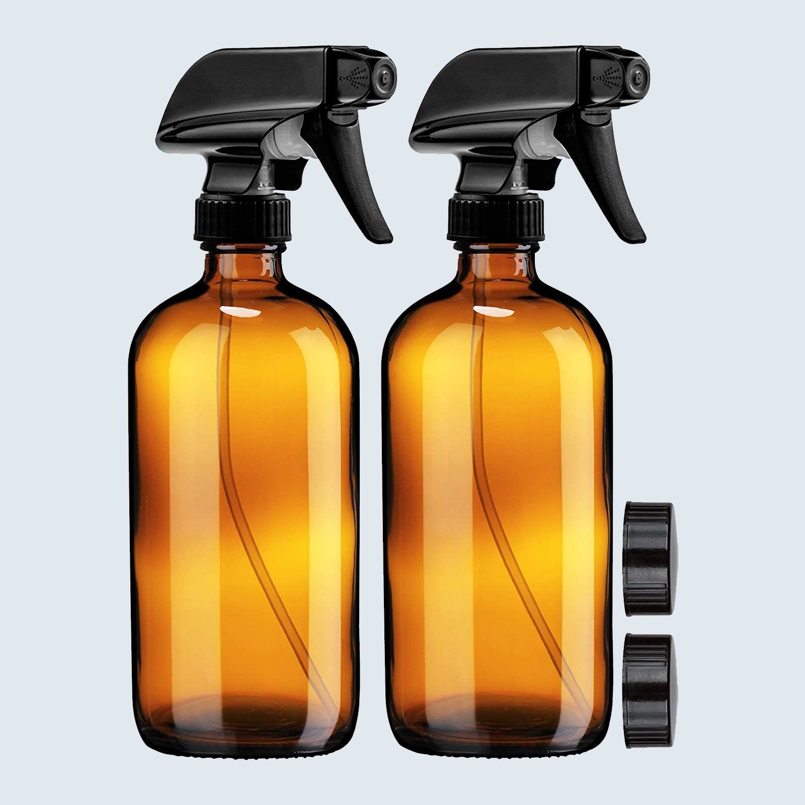 Sally's Organics Amber Glass Spray Bottles