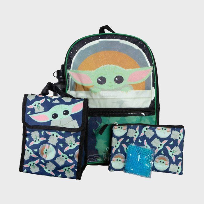 Bioworld Mandalorian Backpack And Lunch Box Set