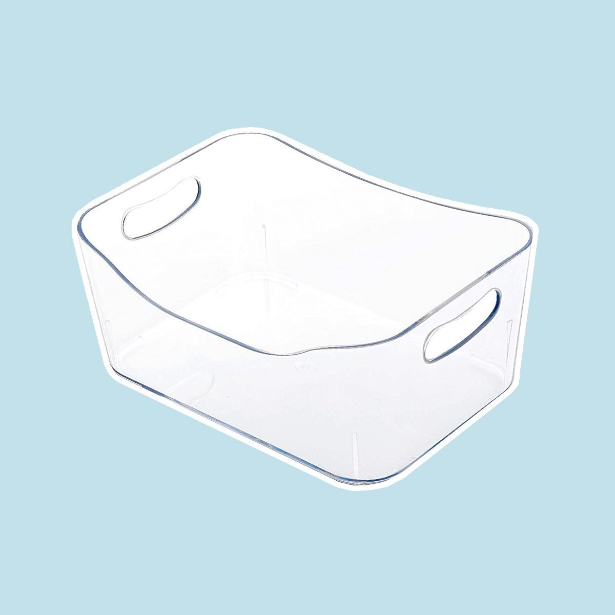 Clear Plastic Storage Bins