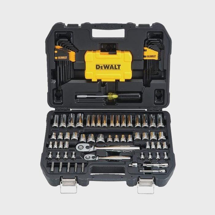 Dewalt 108 Piece Mechanics Tool Kit And Socket Set