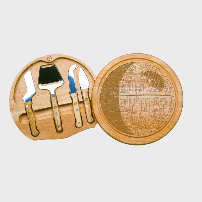 Death Star Circo Cheese Set With Cheese Tools