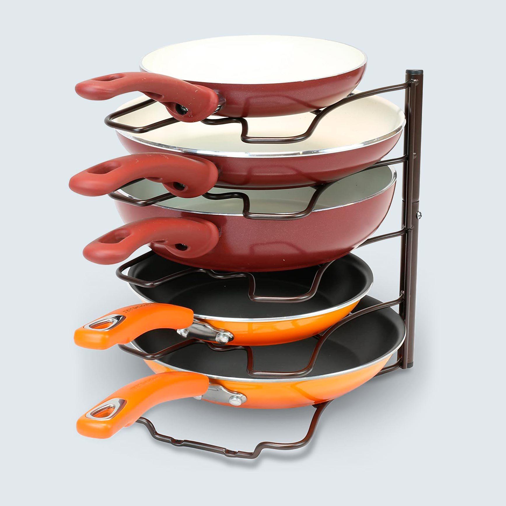 DecoBros Pan Organizer Shelf Rack