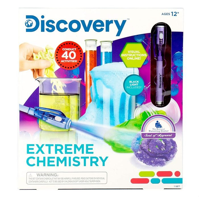 Discovery Extreme Chemistry Set