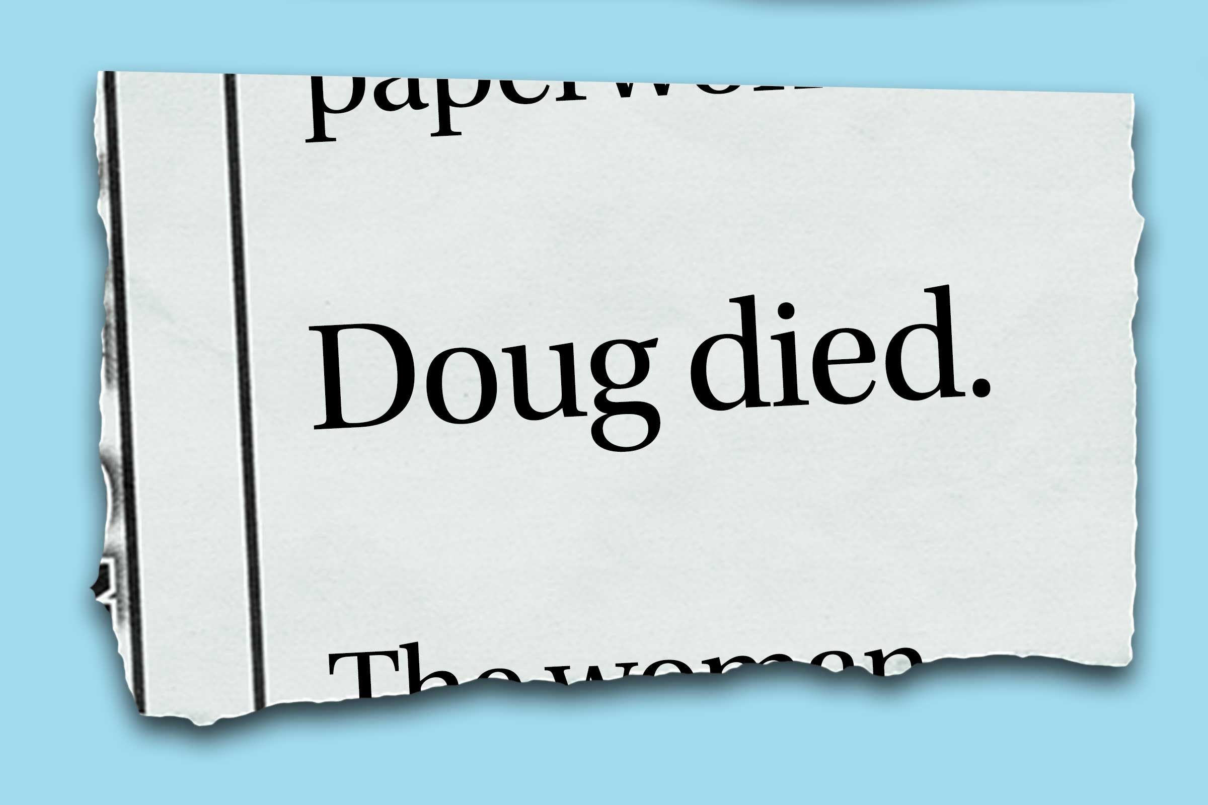Strange and funny obituaries