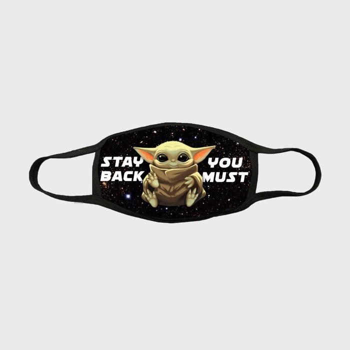 Elevated Solution Baby Yoda Mask