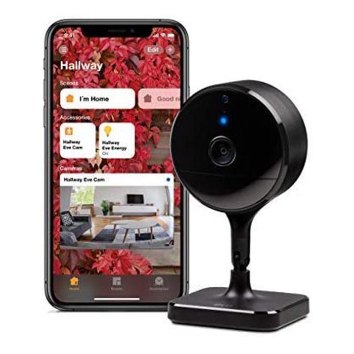 Eve Cam Secure Indoor Wi Fi Camera Via Amazon