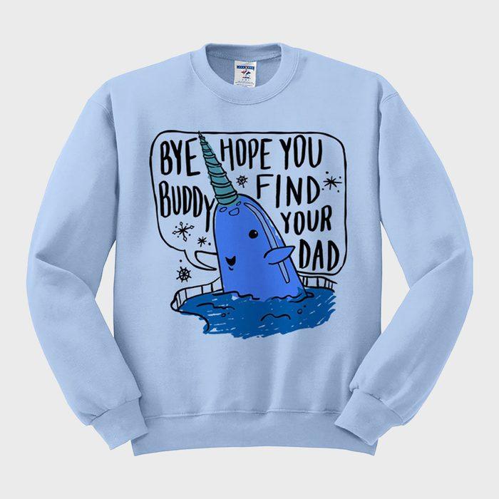 Femfetti Bye Buddy Ugly Holiday Sweater
