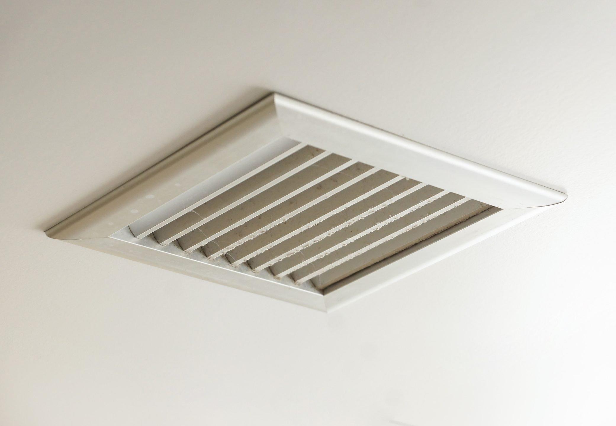Dirty air ventilator