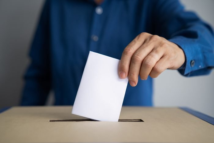 Voting box and election image,election