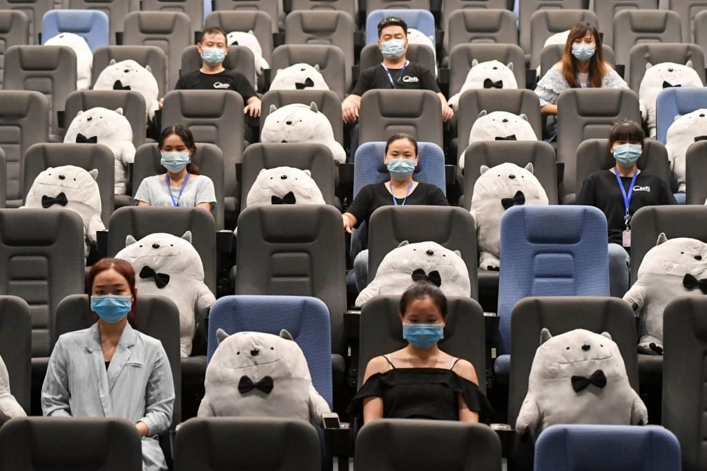 Cinemas In China Prepare For Reopening
