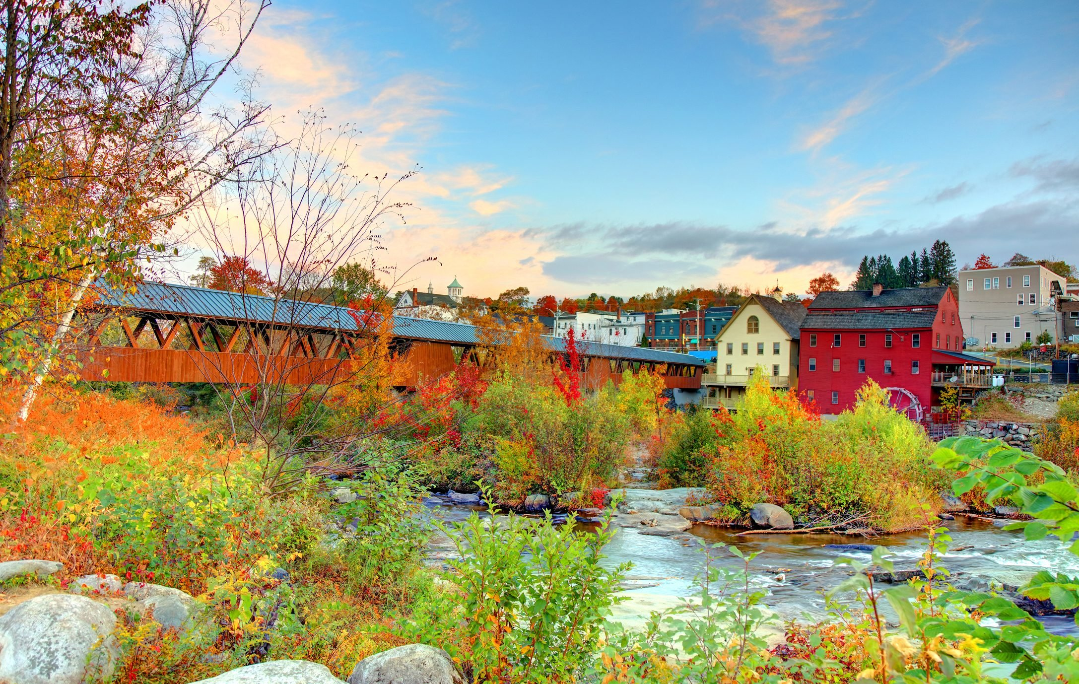 Autumn in Littleton, New Hampshire