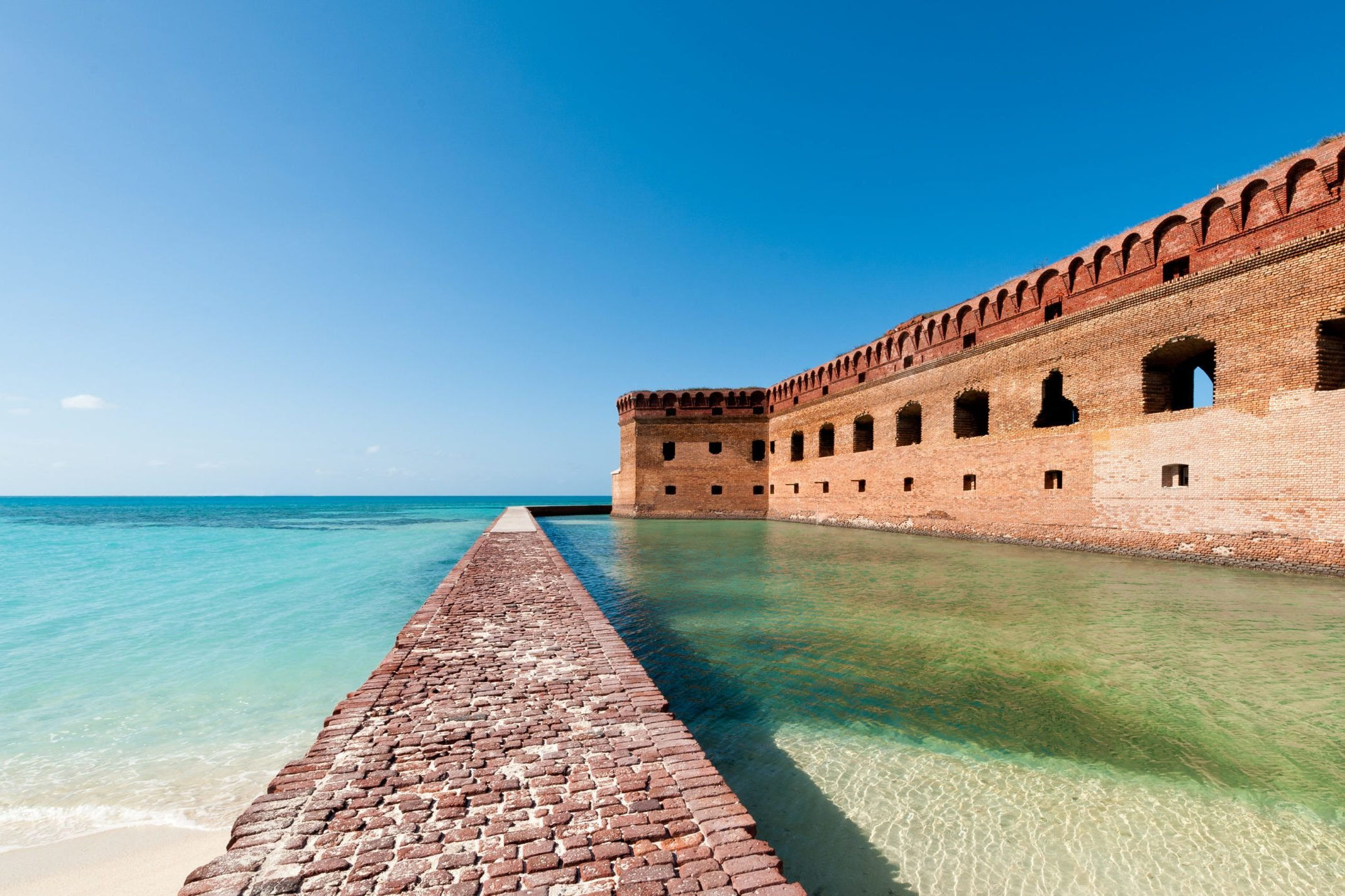 Fort on the ocean