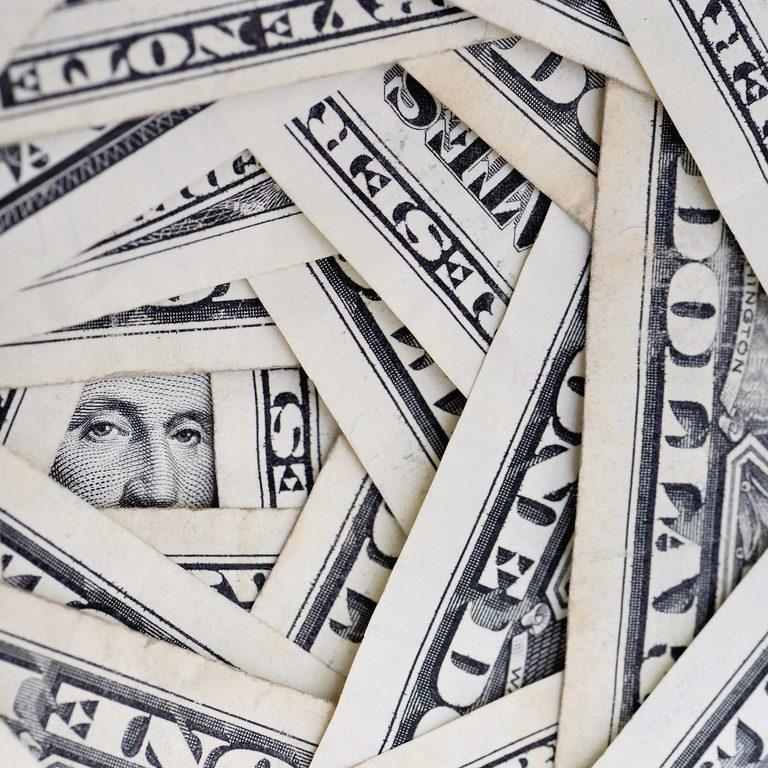 American dollars debt