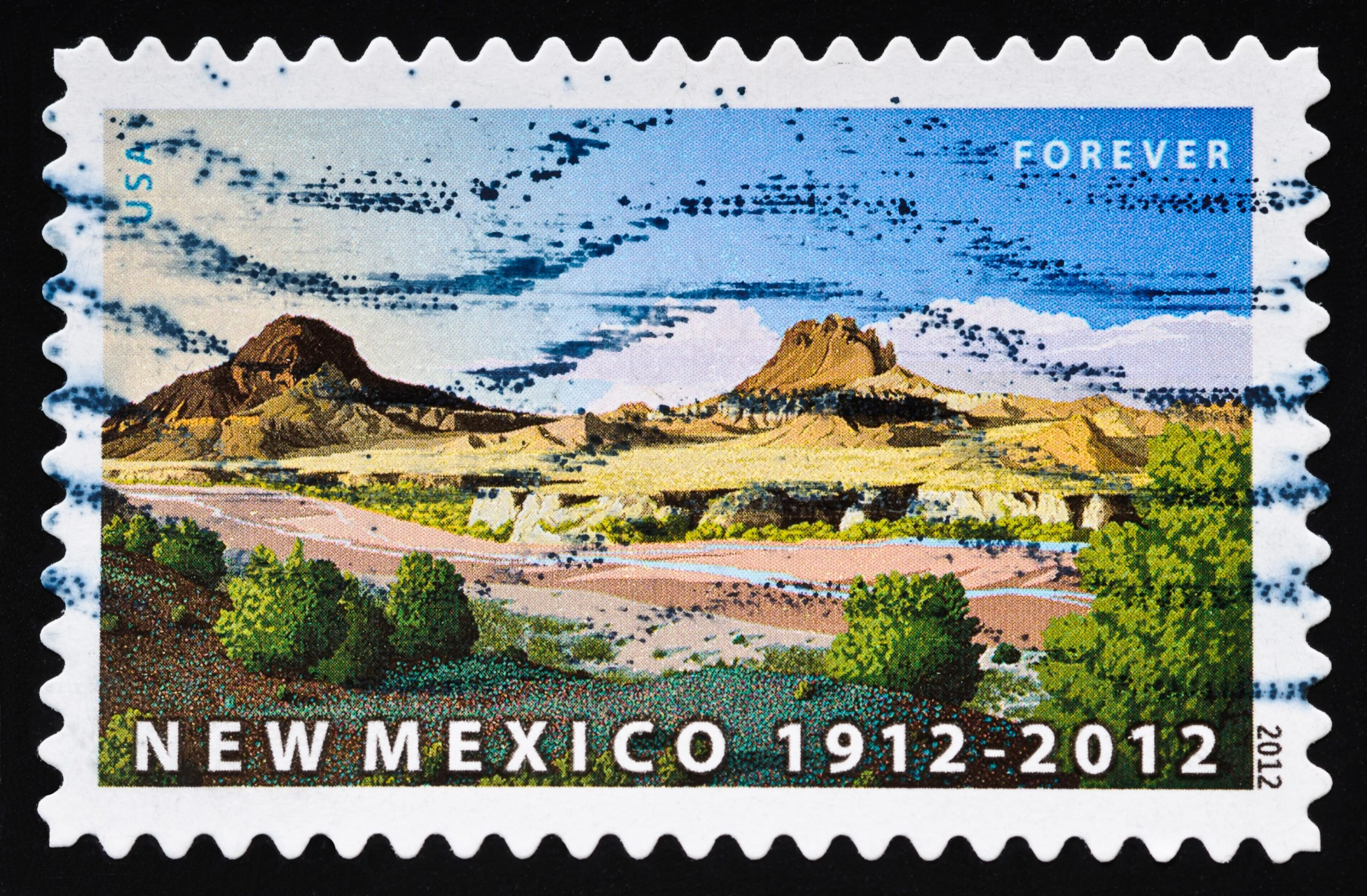 New Mexico Statehood Stamp