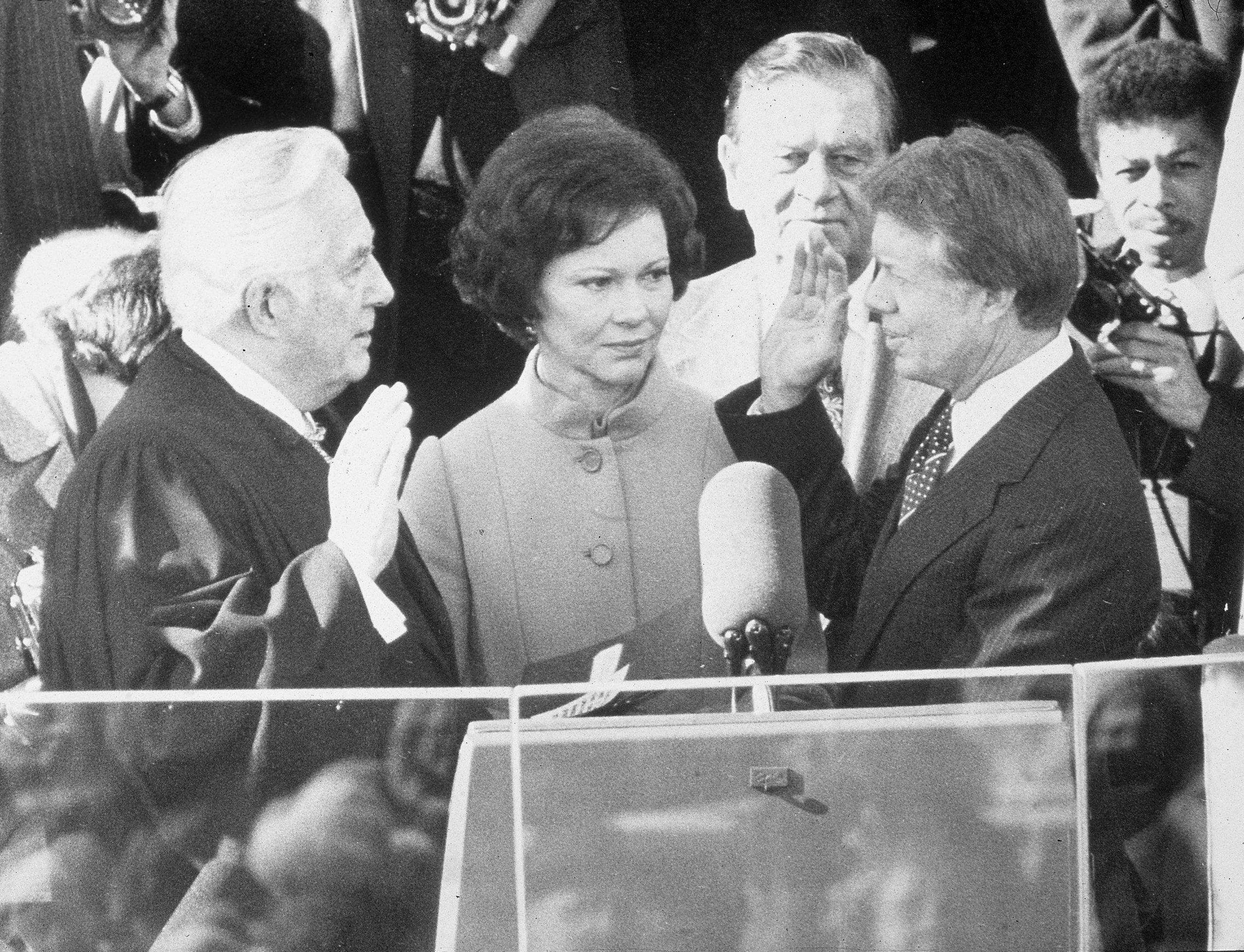 Jimmy Carter Presidential Inauguration, DC, 1977.