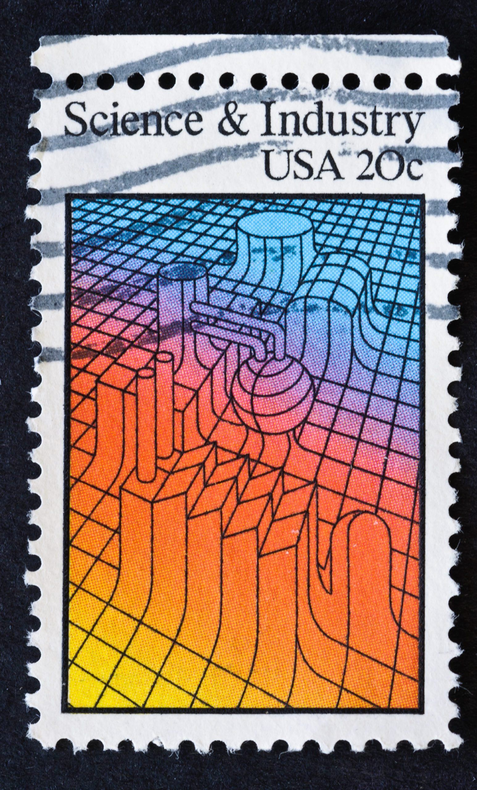 Science & Industry Stamp