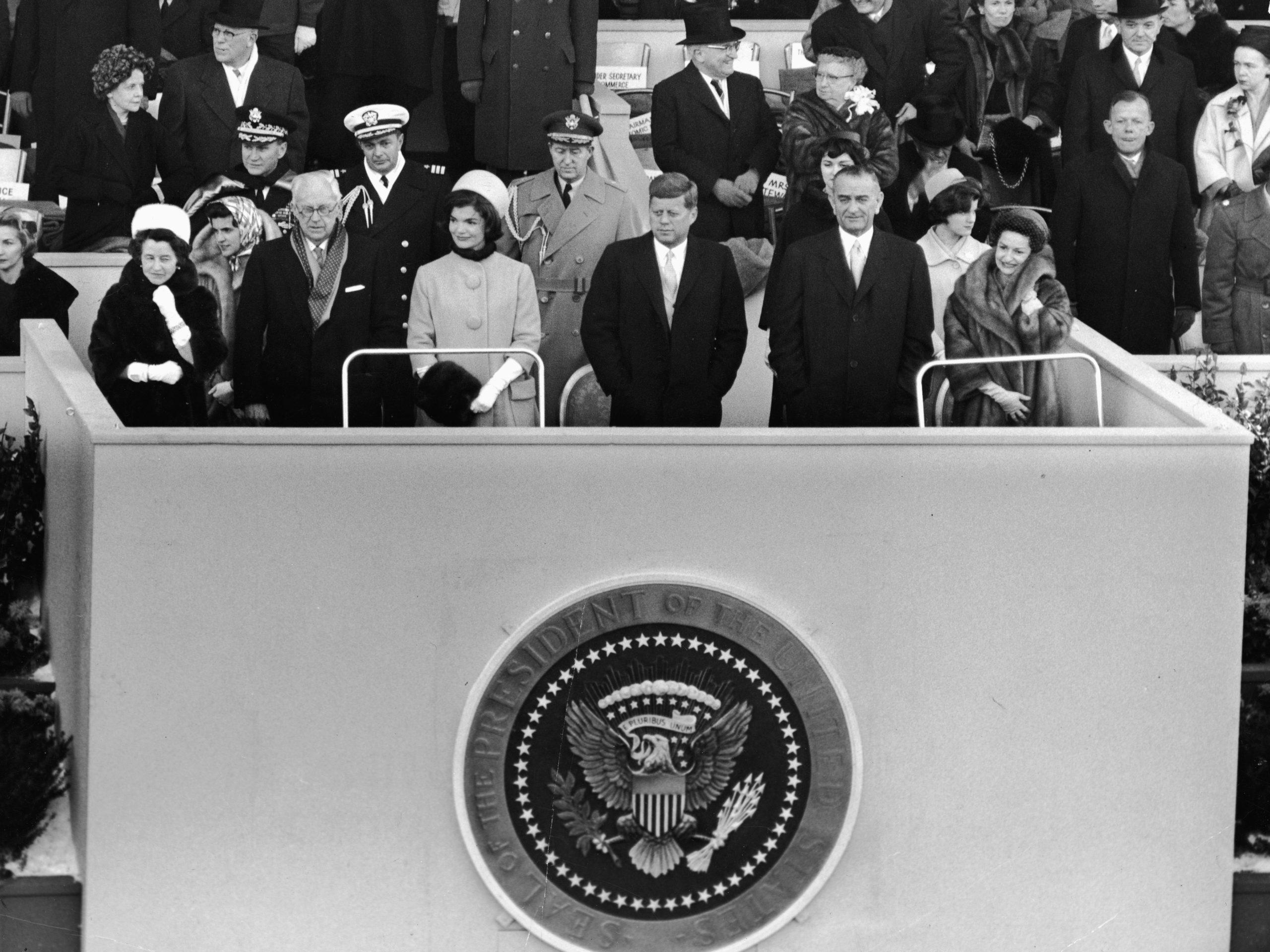 The Inauguration Of President John F. Kennedy