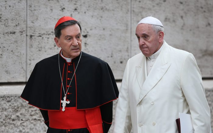 Extraordinary Consistory On the Themes of Family Is Held At Vatican