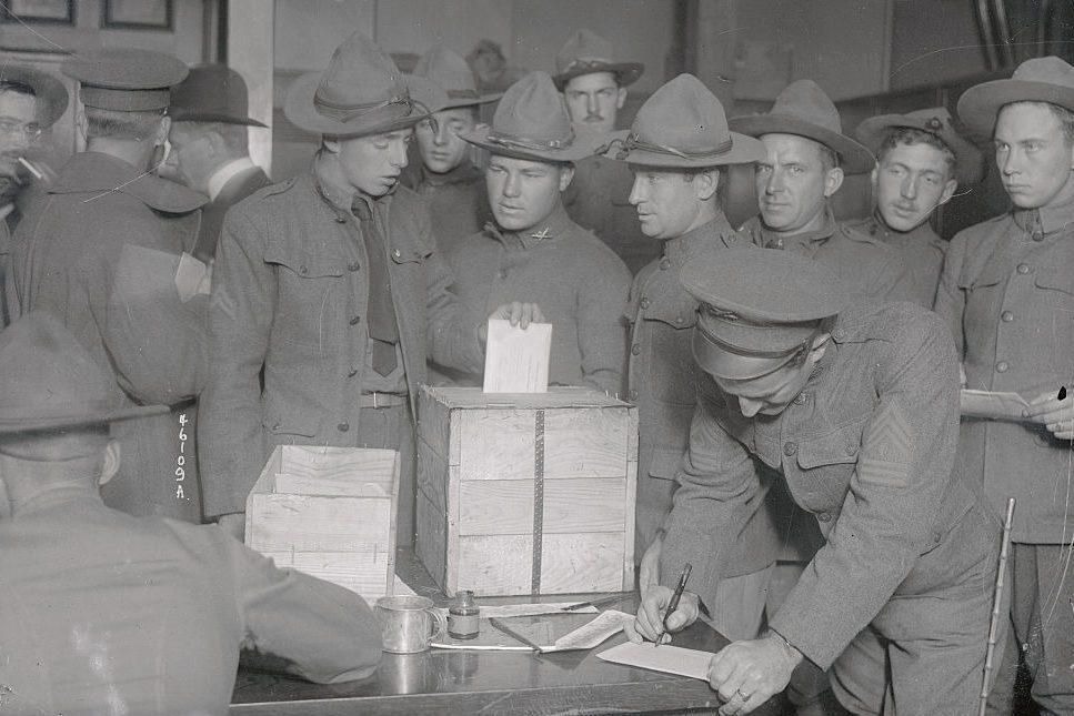 Field Artillery Members Voting