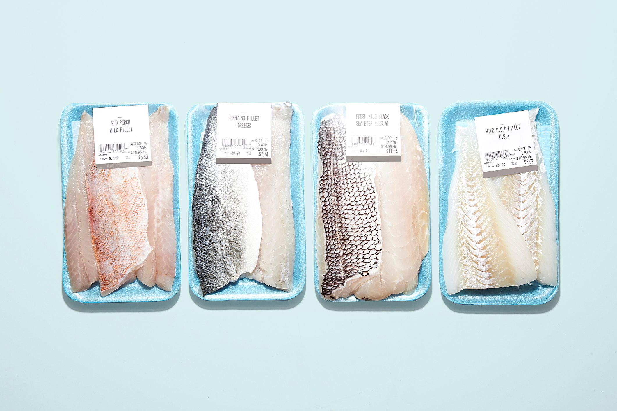 Packaged Fresh Fish