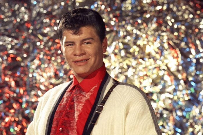 Latin rock and roll singer Ritchie Valens
