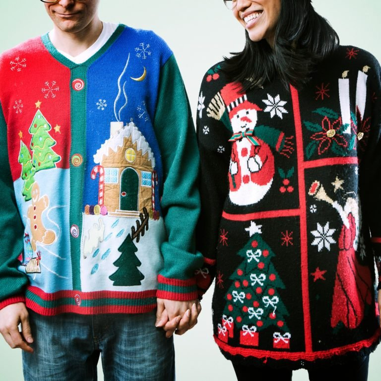 Christmas Sweater Couple