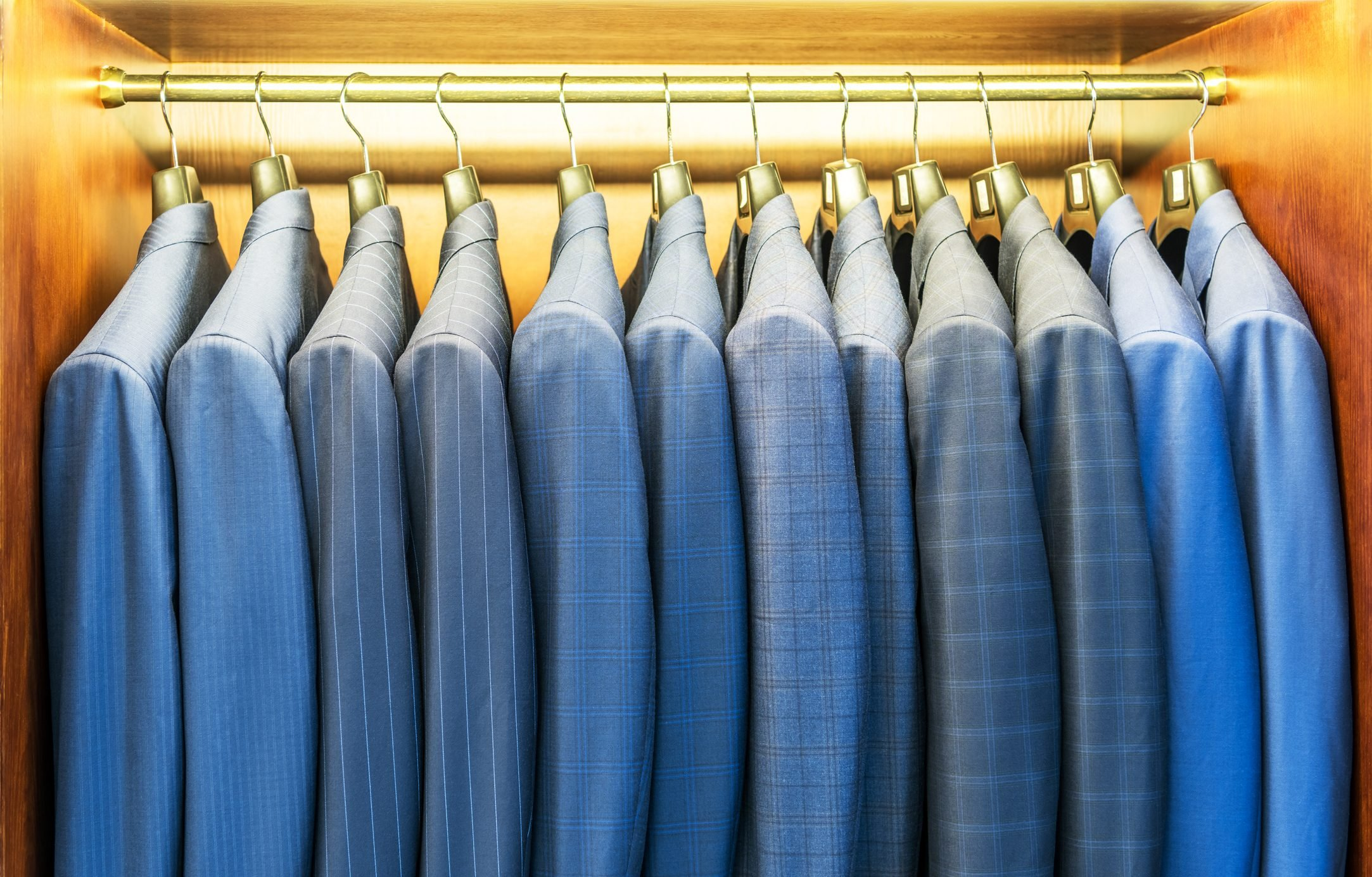 Suit Jackets In A Row