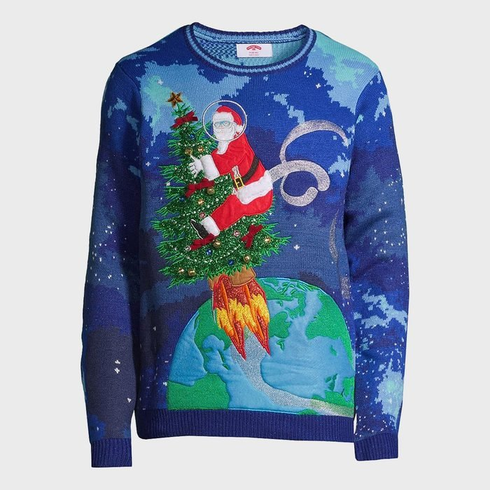 Holiday Time Mens And Big Mens Ugly Christmas Sweater