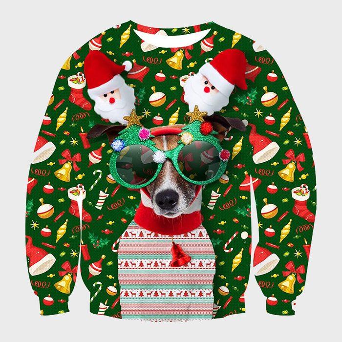 Idgreatim Unisex Ugly Christmas 3d Sweatshirt